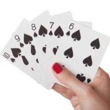 Straight Flush of spades in hand